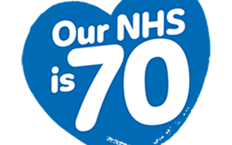 NHS 70 graphic