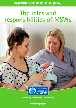Roles and Responsibilities for Maternity Support Workers