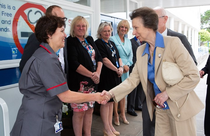 HRH The Princess Royal sends letter to midwives on  eve of Year of the Midwife in 2020