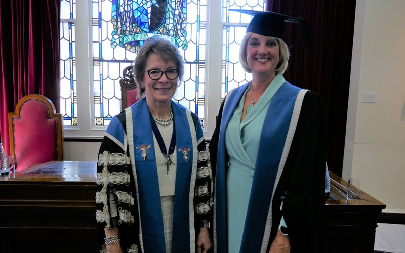 'RCM CEO awarded a Fellowship from the RCOG'
