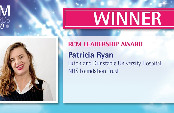 Midwife honoured with national Leadership Award from RCM