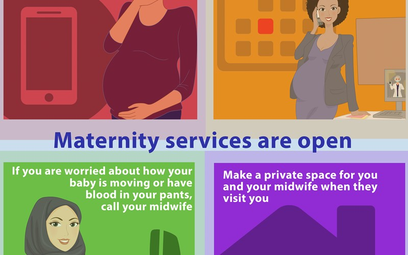RCM offers advice to pregnant women as new study shows heightened risk to some communities