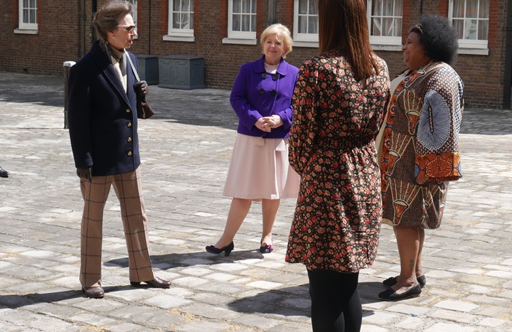 Midwives have private appointment with HRH The Princess Royal on International Day of the Midwife